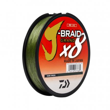 LINHA MULT. 8X J-BRAID 0.43MM 80LBS 270M DARKGREEN