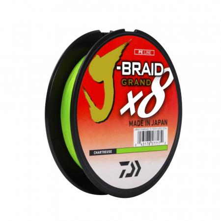 LINHA MULT. 8X J-BRAID 0.19MM 15LBS 135M CHARTREUSE