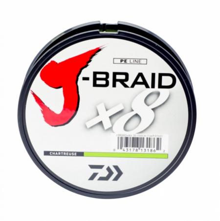 LINHA MULT. 8X J-BRAID 0.23MM 20LBS 150M CHARTREUSE