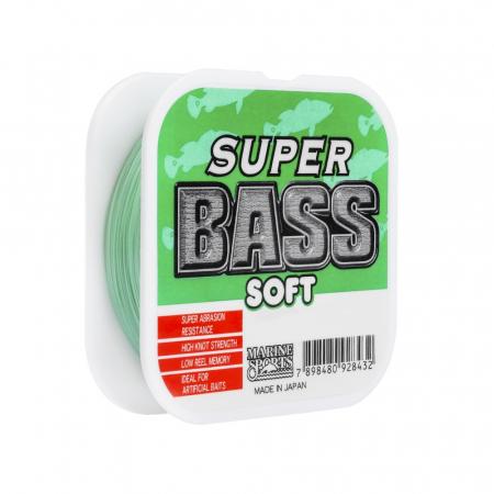 LINHA MON. SOFT SUPER BASS 0.37MM 21LBS 250M GREEN