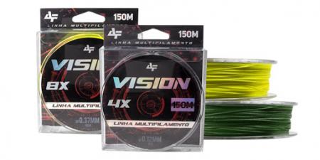 LINHA MULT. 4X VISION 0.32MM 150M AMARELA