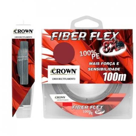 LINHA MULT. 8X FIBER FLEX 0.20MM 100M