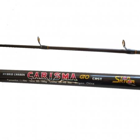 VARA CAR. CARISMA GTO CAST 2,40M 20-45LBS - 2 PARTES