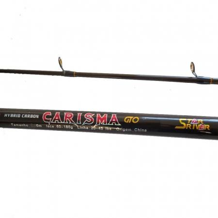 VARA MOL. CARISMA GTO SPIN 2.70M 20-45LBS - 2 PARTES