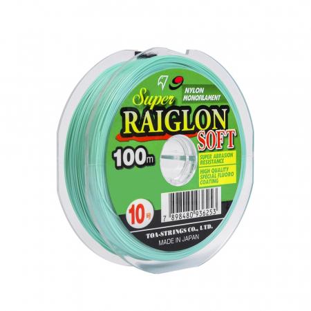 LINHA MON. S. RAIGLON SOFT 0.37MM 100M