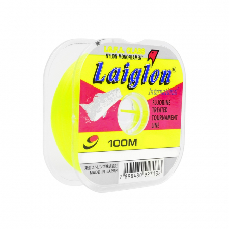 LINHA MON. LAIGLON 3.0 0.285MM 100M AMARELA