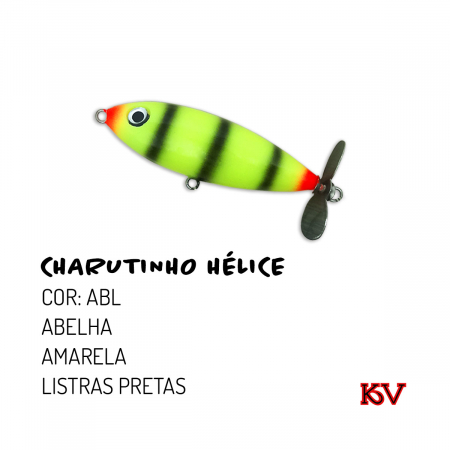 ISCA ARTIFICIAL CHARUTINHO HELICE