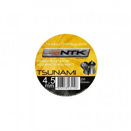 CHUMBINHO 4.5MM TSUNAMI 250UN