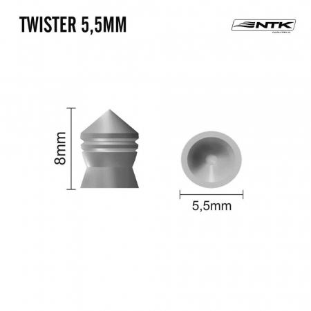CHUMBINHO 5.5MM TWISTER 125UN