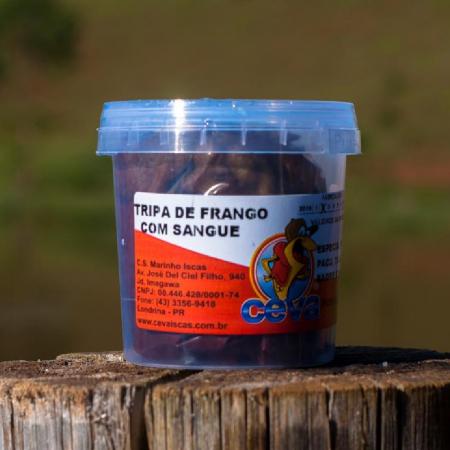 TRIPA DE FRANGO C/ SANGUE DESITRATADA 120GR - CEVA