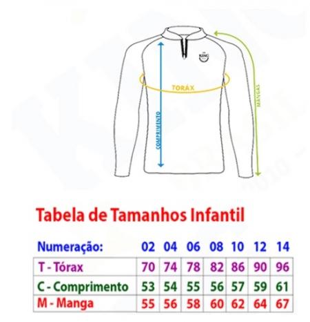 CAMISETA INF. TAMBA N02 KING
