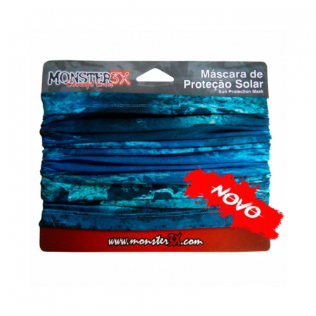 BUFF MONSTER 3X BLUE 02