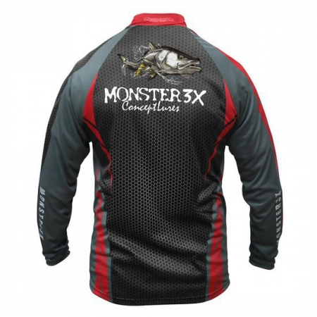 CAMISA MONSTER 3X NEW FISH 04 M